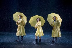 Singing in the rain,   Oscarsteatern 06 Karl Dyall, Hanna Lindblad & Rennie Mirro