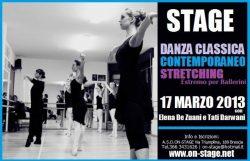 stage danza classica, contemporanea e stretching